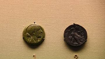 Bronze Coin of Cleopatra