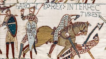 Death of Harold, Bayeux Tapestry