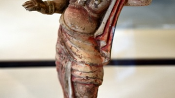 Tang Figure of an African or Indonesian Dancer