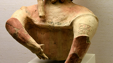 Haniwa Warrior with a Tattoo