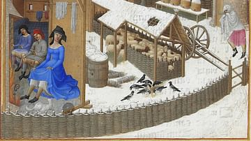February, Les Tres Riches Heures
