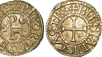 Coin of Odo of West Francia