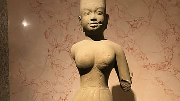 Ancient Statue of Goddess Uma