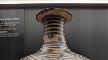 Majiayao Culture Linear Design Pottery