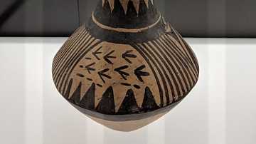 Jar With Stylized Landscape, Majiayao Culture