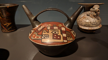 Double-Spouted Wari Vessel