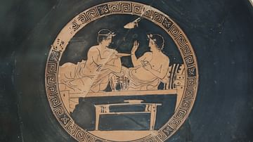 Greek Symposium Scene