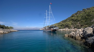 Travelling Along the Lycian Way