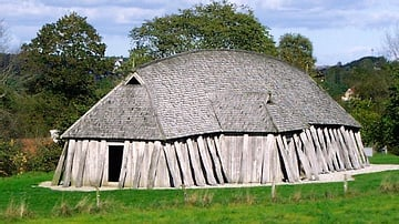 Reconstructed Longhouse or Mead Hall