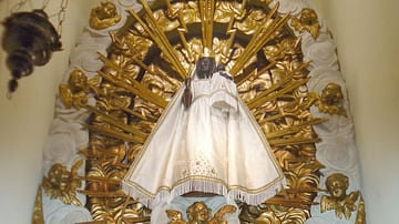 The Black Madonna of Einsiedeln