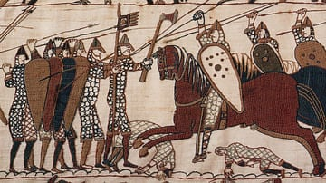 Battle of Hastings, Bayeux Tapestry