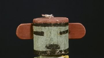 Wooden Kachina Doll