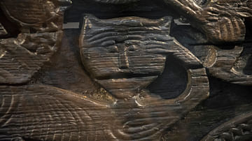 Oseberg Ship Carving