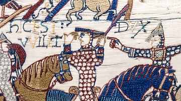 William the Conqueror on Horseback, Bayeux Tapestry