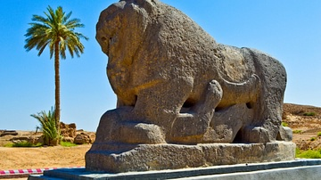 Lion of Babylon Statue