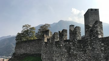 Castelgrande Walls and Towers