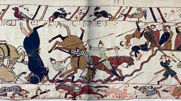 Norman Cavalry at Hastings, Bayeux Tapestry
