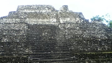 Temple 24 at Chacchoben