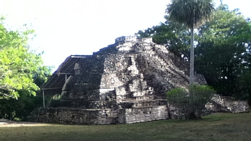 The Temple of the Vessels, Chacchoben