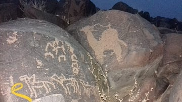 Safaitic Inscriptions, Jordan