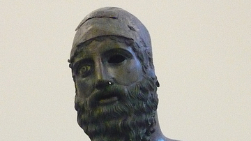 Detail, Riace Warrior B
