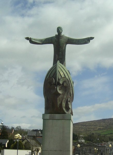 Statue of Saint Brendan