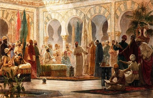 The Court of Abd al-Rahman III (by BomBom)