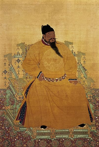 Yongle Emperor (by Unknown Artist, Public Domain)