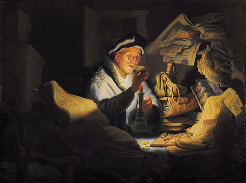 The Parable of the Rich Fool by Rembrandt