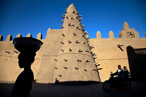 Djinguereber Mosque, Timbuktu (by UN Photo/Marco Dormino)