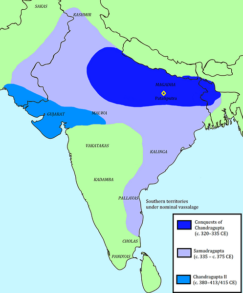 Gupta Empire and Conquests