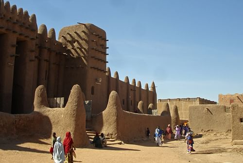 Great Mosque, Djenne, Mali (by Carsten ten Brink, CC BY-NC-ND)