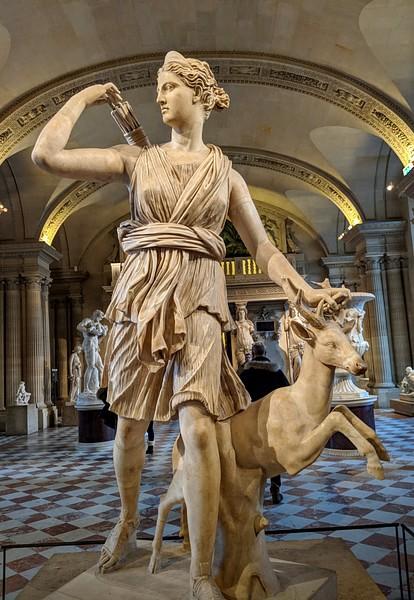 Artemis, deusa da caça (por Jan van der Crabben, CC BY-NC-SA)