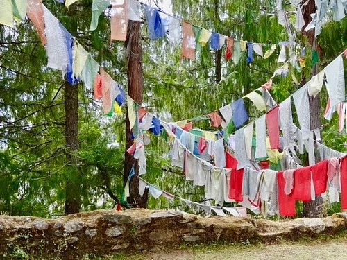 Bhutanese Prayer Flags