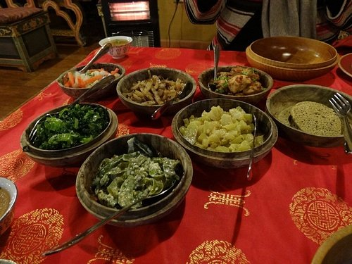 Traditional Bhutanese Food