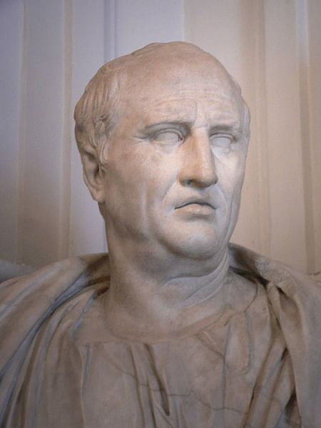 Cicero (by Mary Harrsch (Photographed at the Capitoline Museum), CC BY-NC-SA)