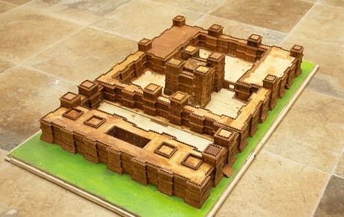 Model of an Axum Palace (by A. Davey)