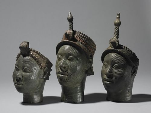 Brass Heads from Ife (by The British Museum)