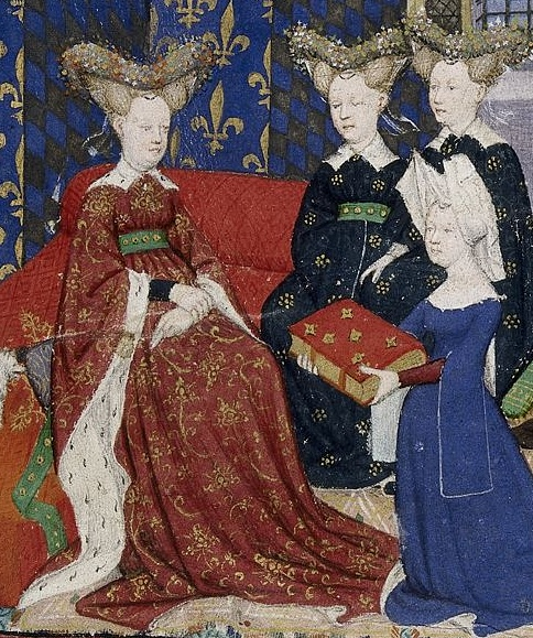 Christine de Pizan Presenting Her Book to Queen Isabeau