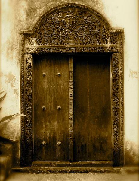Swahili Doorway, Mombassa