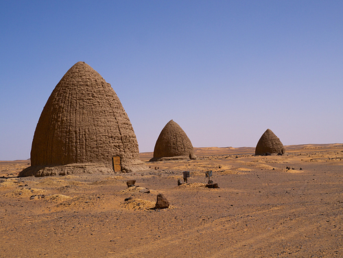 Muslim Qubba Tombs, Dongola