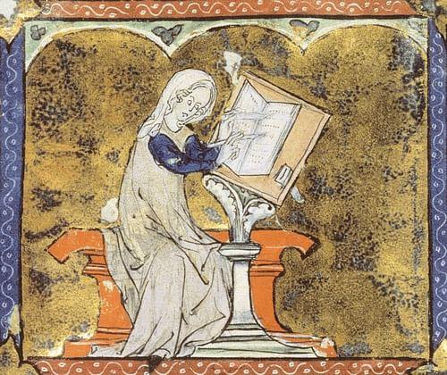 Marie de France (by Torana, Public Domain)