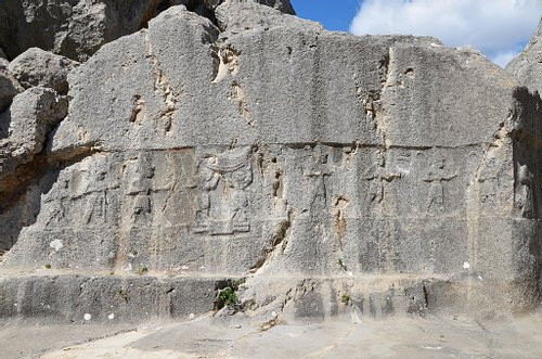 Hittite Rock Relief at Yazilikaya
