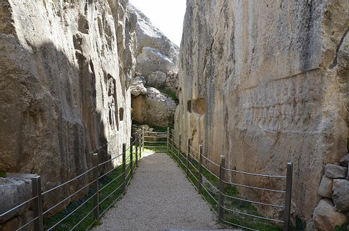 Yazilikaya Hittite Rock Sanctuary, Overview of Chamber B