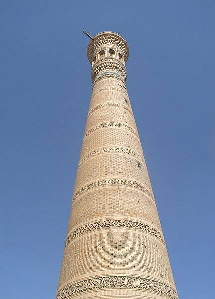 Vabkent Minaret (by Alaexis, CC BY-SA)