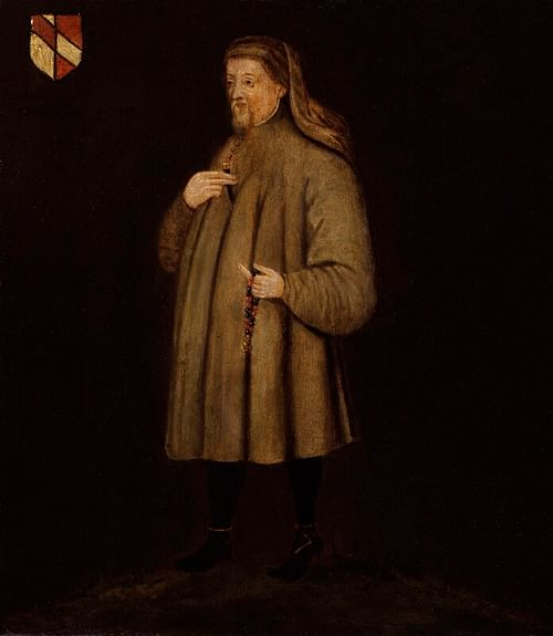 Portrait of Geoffrey Chaucer (by National Portrait Gallery, CC BY-NC-ND)