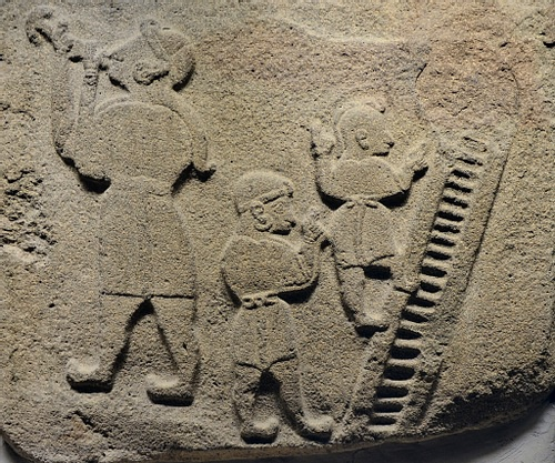 Hittite Orthostat with Acrobats