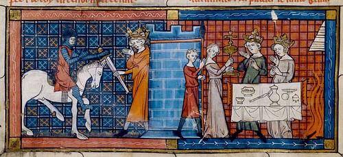 Chretien de Troyes enluminure