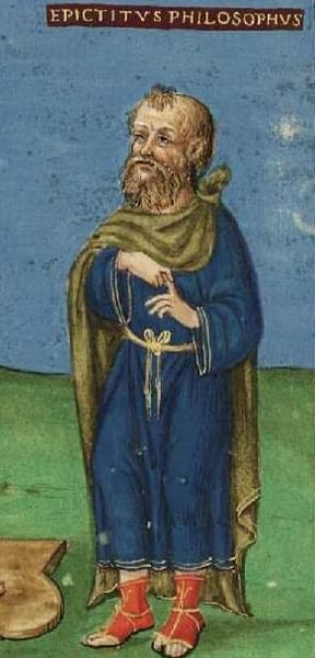 Late Medieval Portrait of Epictetus (by Pasicles, Public Domain)