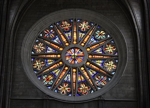 Rose Window, Orleans Cathedral